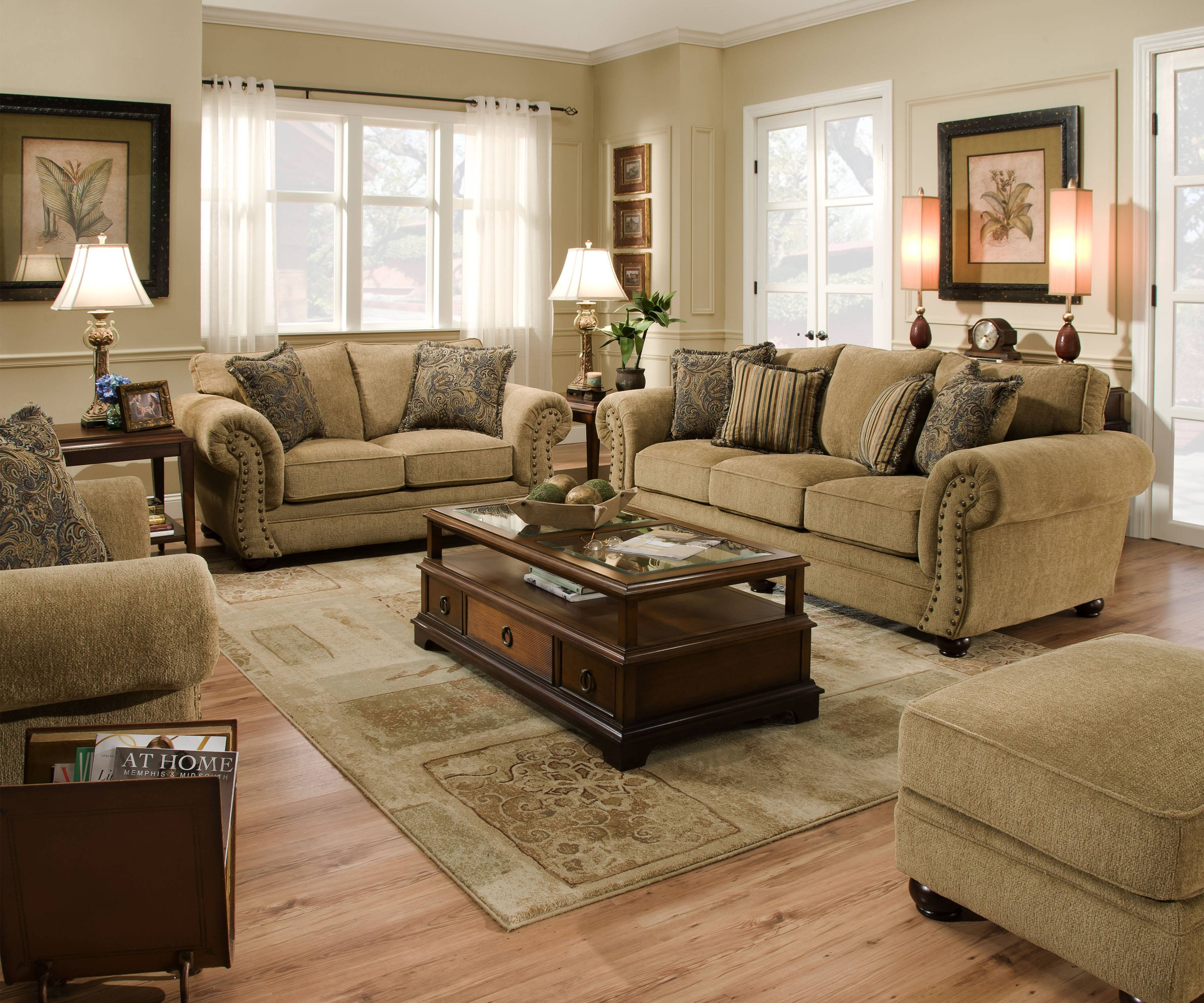 4277 - United Furniture Industries pertaining to Simmons Sofas and Loveseats (Image 4 of 15)