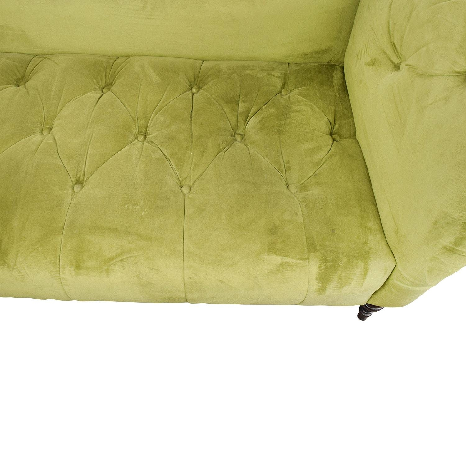 43% Off - Urban Outfitters Urban Outfitters Antoinette Tufted intended for Antoinette Sofas (Image 3 of 15)