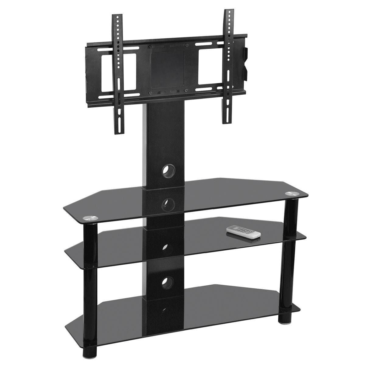 50 Inch Tv Stand | Televisions | Ebay regarding Oval Glass Tv Stands (Image 1 of 15)