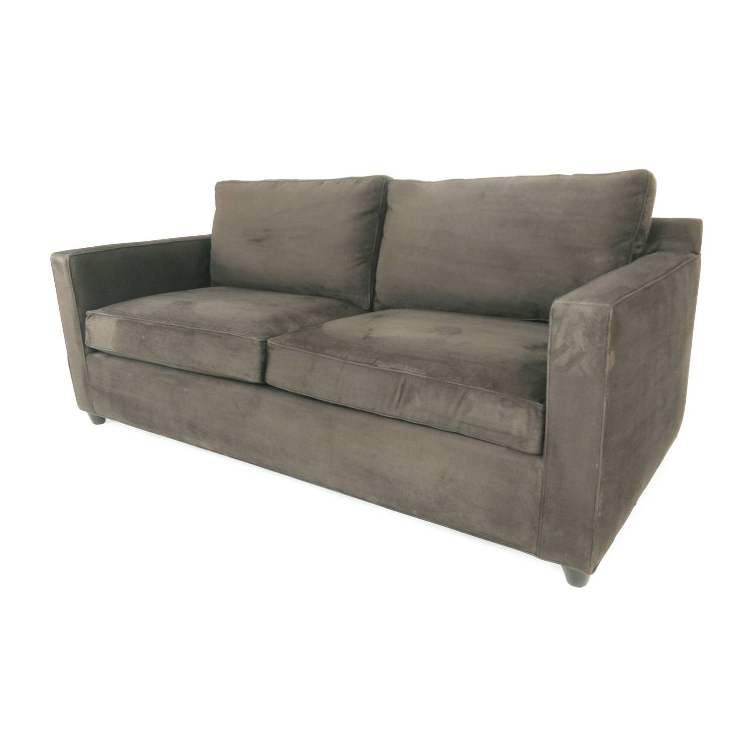 57% Off   Crate And Barrel Crate & Barrel Davis Sofa / Sofas Intended For Davis Sofas (Photo 8 of 15)