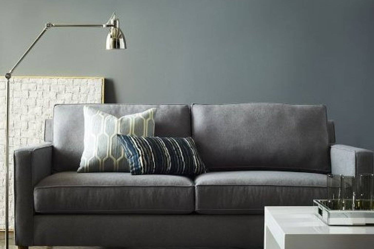 6 Couches For Small Apartments That Will Actually Fit In Your with regard to Condo Size Sofas (Image 2 of 15)