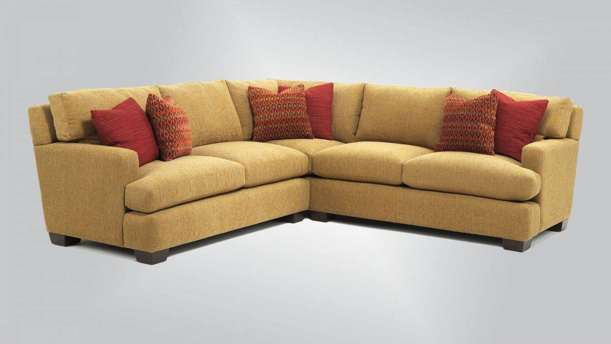 629 – Sectional With 447 Arm – Burton James Inside Burton James Sectional Sofas (Gallery 6 of 15)