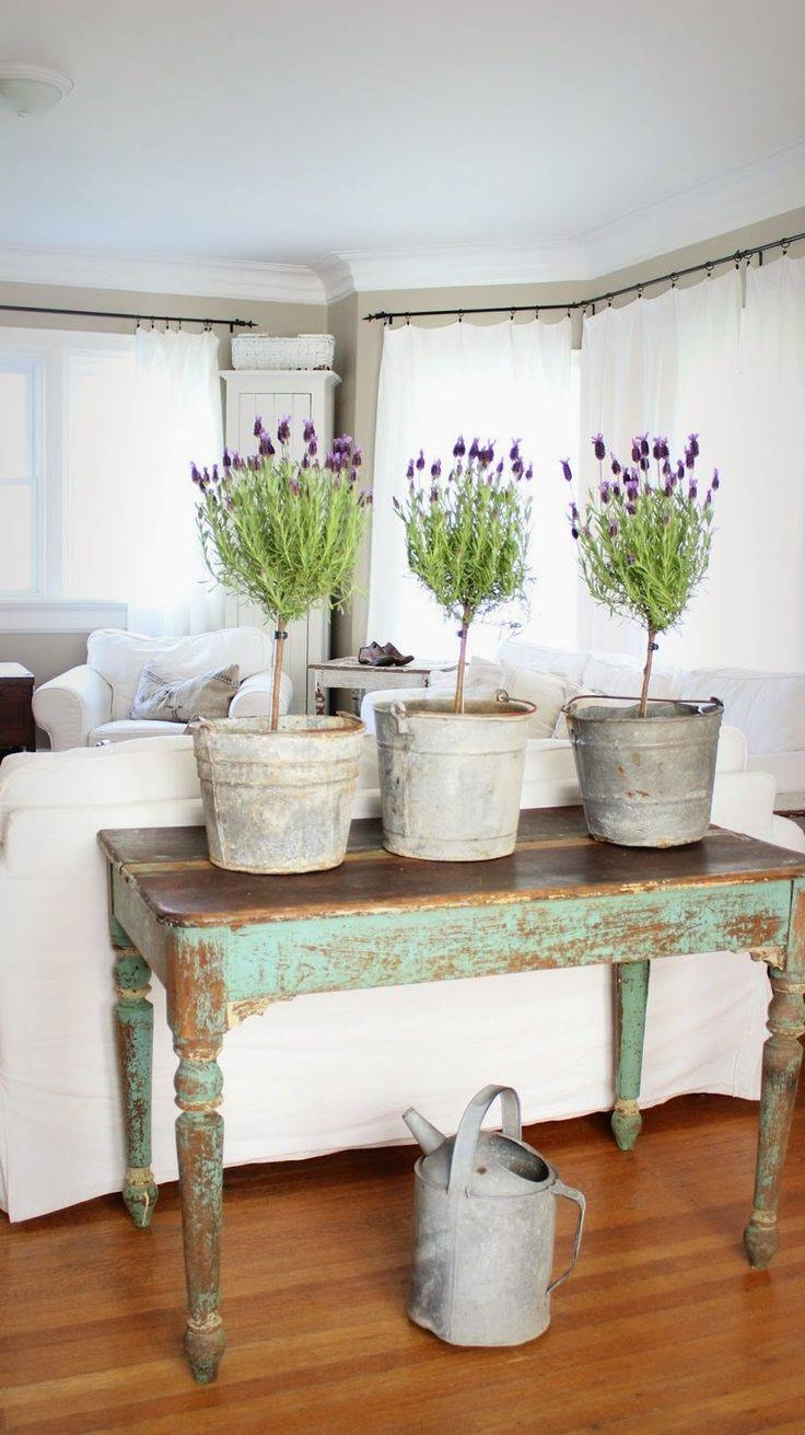 646 Best Vintage Shabby Images On Pinterest | Shabby Chic Decor in Shabby Chic Sofa Tables (Image 1 of 15)