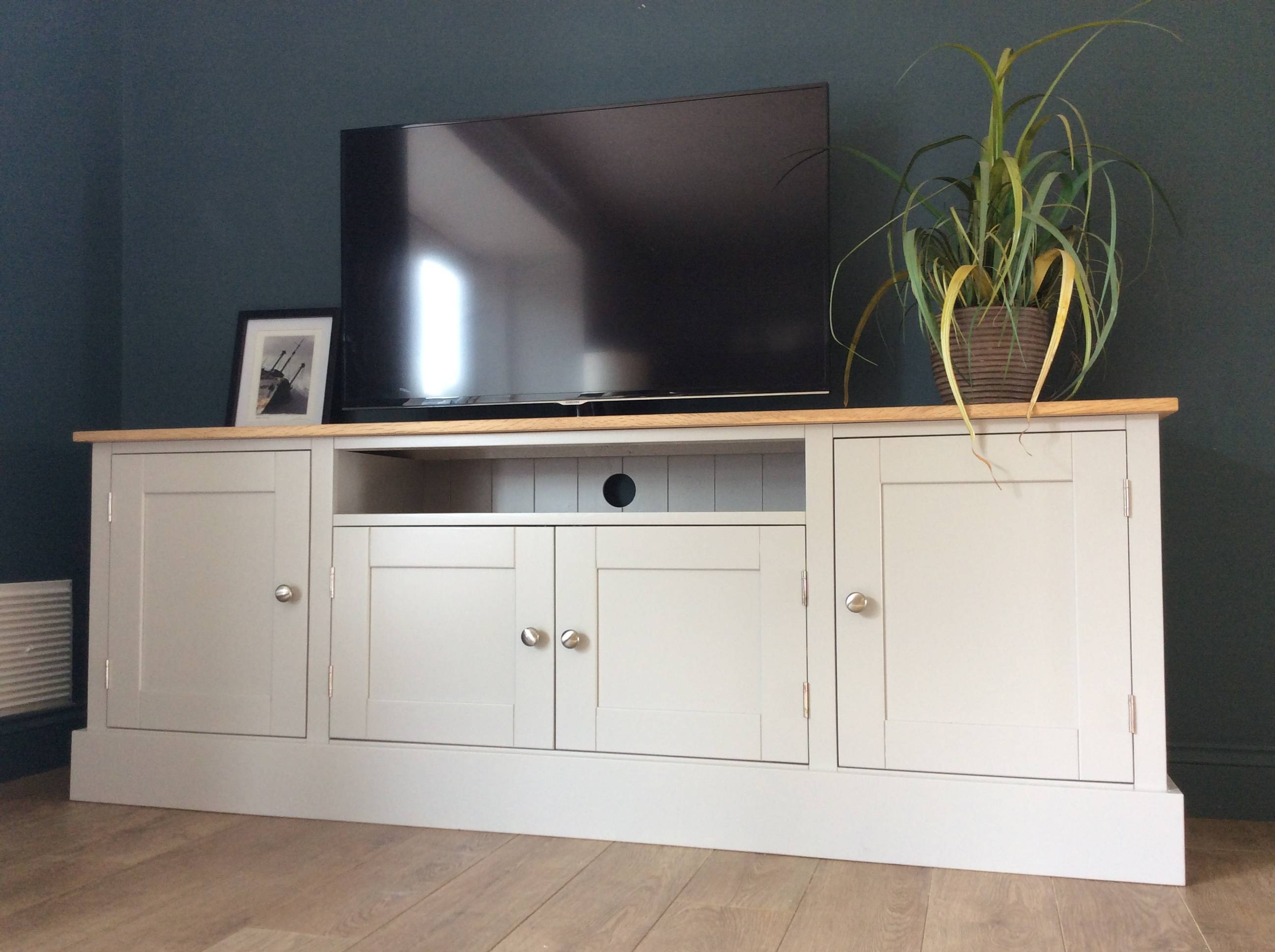 6Ft Solid Pine & Oak Tv Cabinet - Nest At Number 20 regarding Solid Pine Tv Cabinets (Image 1 of 15)