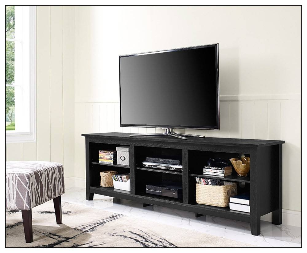 70 Inch Tv Stand   Best Buy In Long Black Tv Stands (Photo 7 of 15)