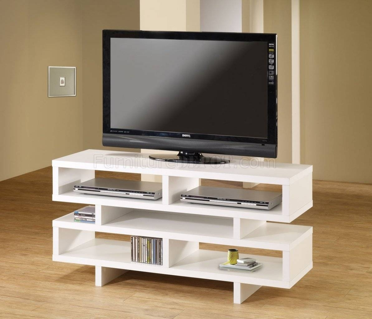 700721 Tv Stand In Whitecoaster Within Funky Tv Stands (Photo 7 of 15)