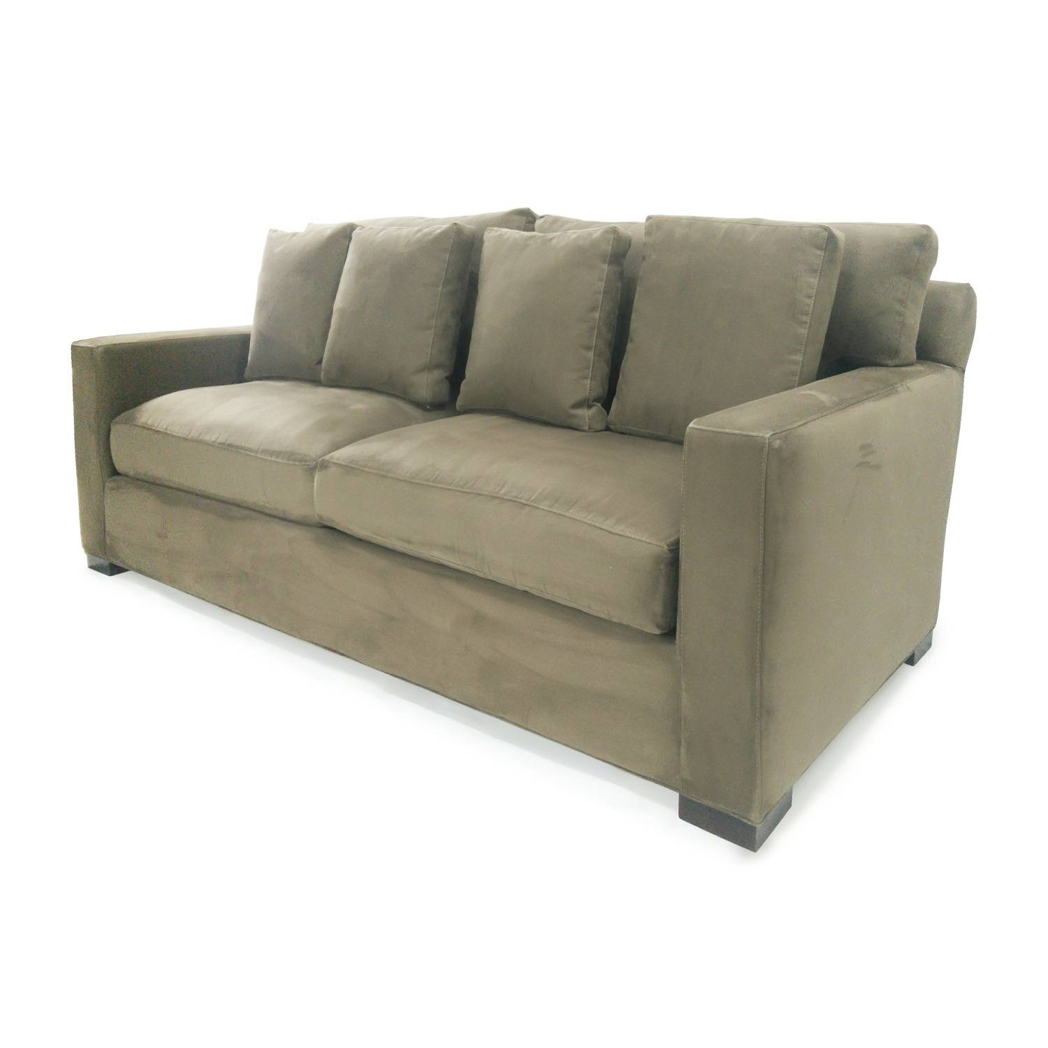 72% Off   Crate And Barrel Crate & Barrel Axis Ii Seat Sofa / Sofas Regarding Crate And Barrel Sofa Sleepers (Photo 3 of 15)