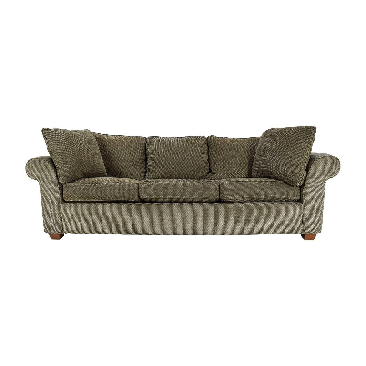 82% Off - Bloomingdale's Bloomingdale's Pullout Sofa / Sofas intended for Bloomingdales Sofas (Image 7 of 15)