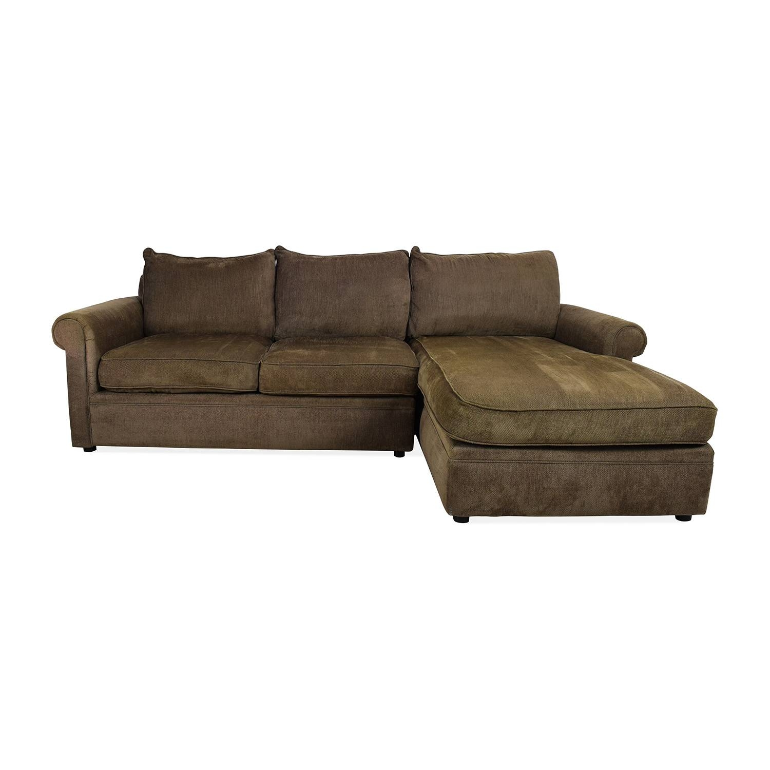 83% Off - Bloomingdales Bloomingdale's Sectional / Sofas intended for Bloomingdales Sofas (Image 9 of 15)