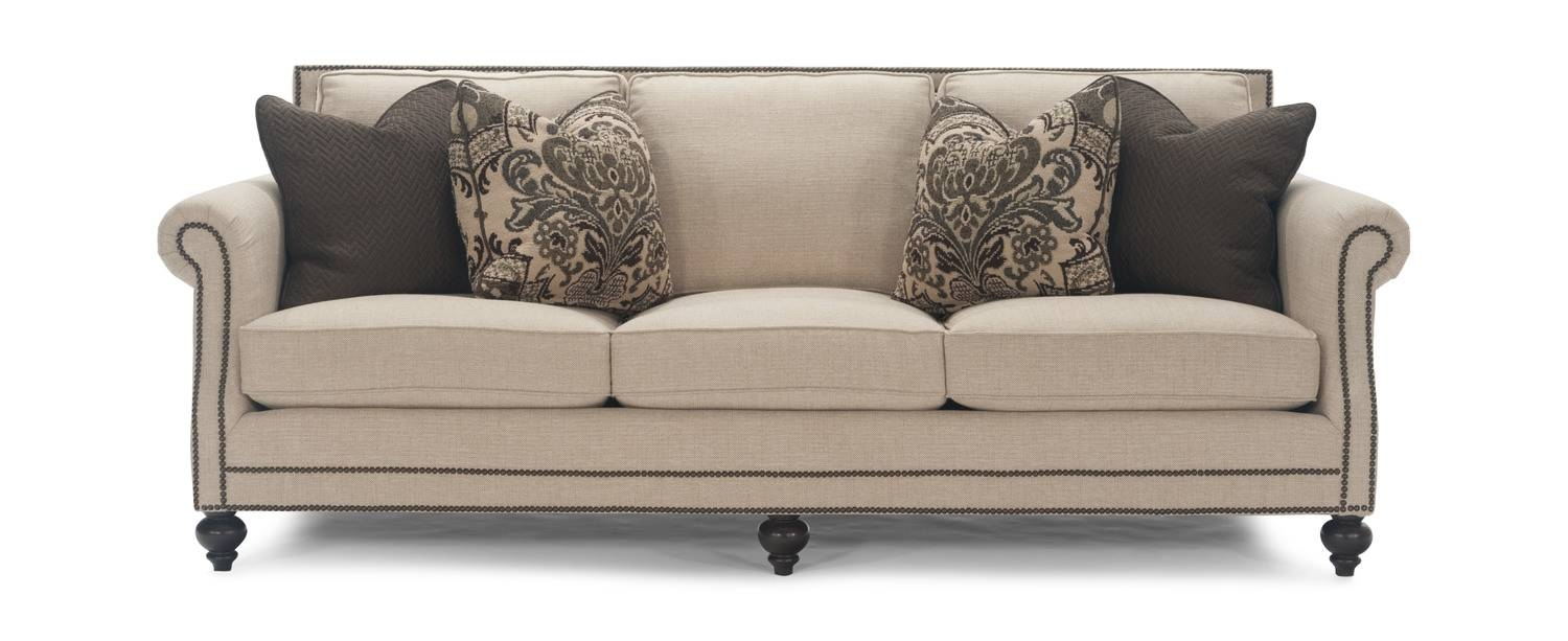 92″ Brae Sofa | Hom Furniture | Furniture Stores In Minneapolis for Bernhardt Brae Sofas (Image 2 of 15)