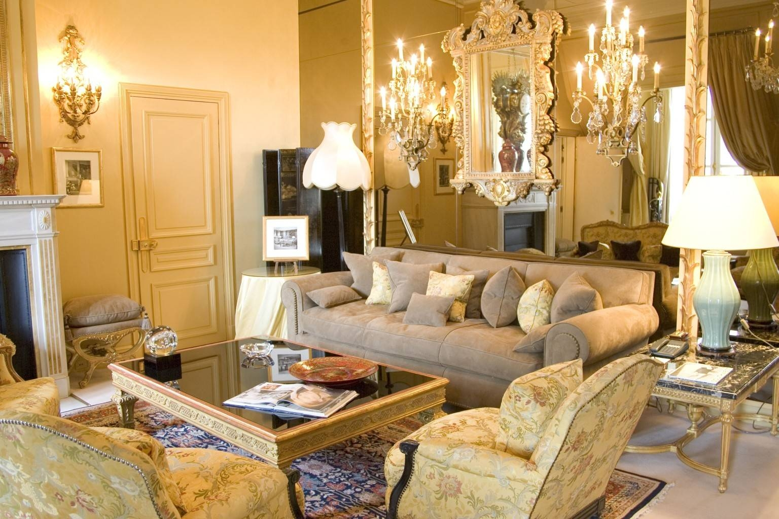 A Rare Look Inside Coco Chanel's Fabulous Parisian Apartment With intended for Coco Chanel Sofas (Image 7 of 15)