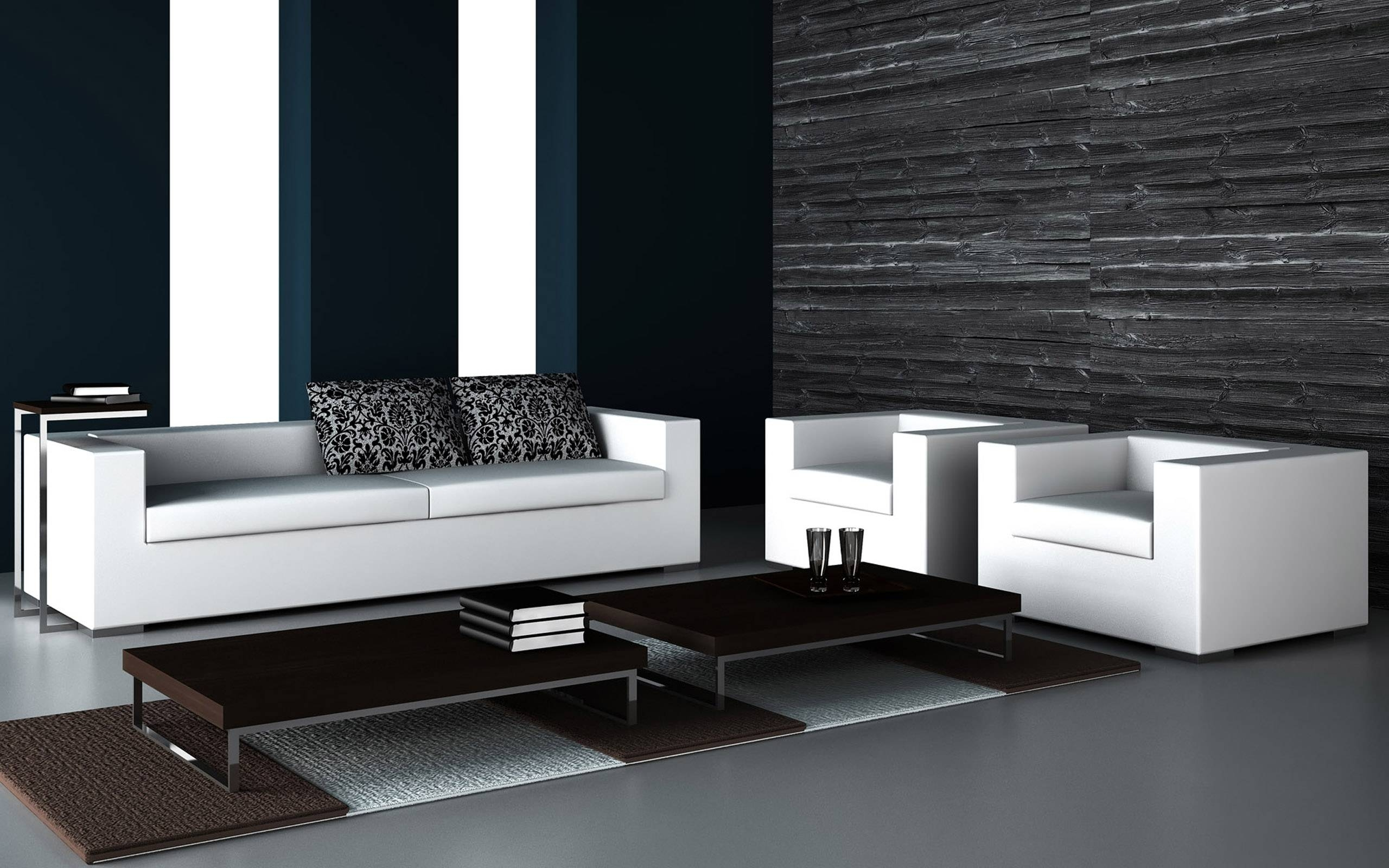 A Timeless Combination: How To Apply Black And White Color In Home for Sofas Black and White Colors (Image 1 of 15)