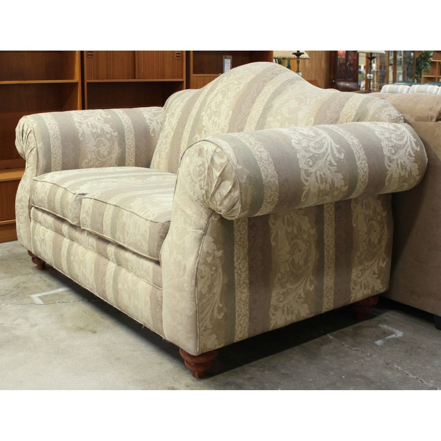 Alan White Camelback Loveseat | Upscale Consignment regarding Alan White Sofas (Image 5 of 15)