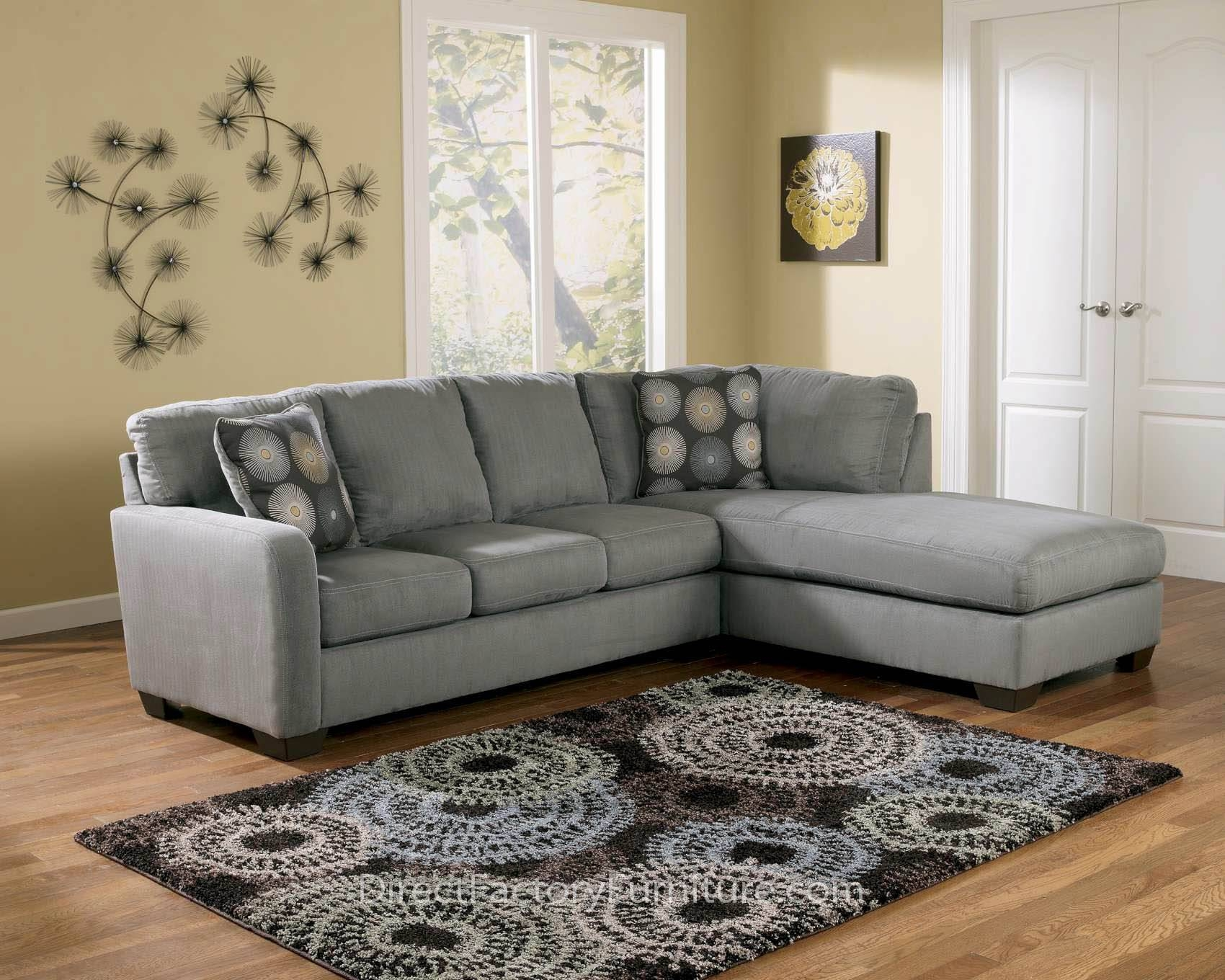 Alluring Small Living Room Design With Grey Single Sofas And Brown for Small Lounge Sofas (Image 3 of 15)