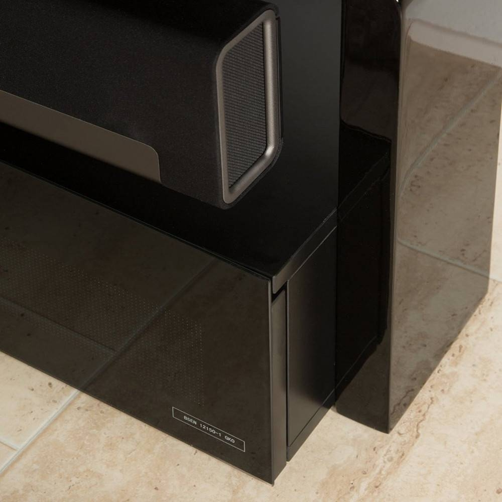 Alphason As9001 Sonos Playbar Tv Stand – Black – Buy Online Today Inside Sonos Tv Stands (View 2 of 15)