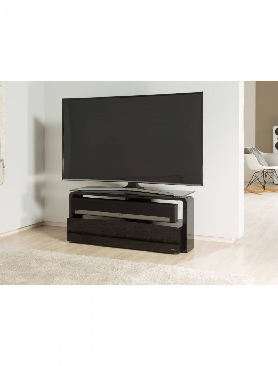 Alphason Sonos Playbar Tv Stand As9001 | 121 Tv Mounts Inside Sonos Tv Stands (View 3 of 15)