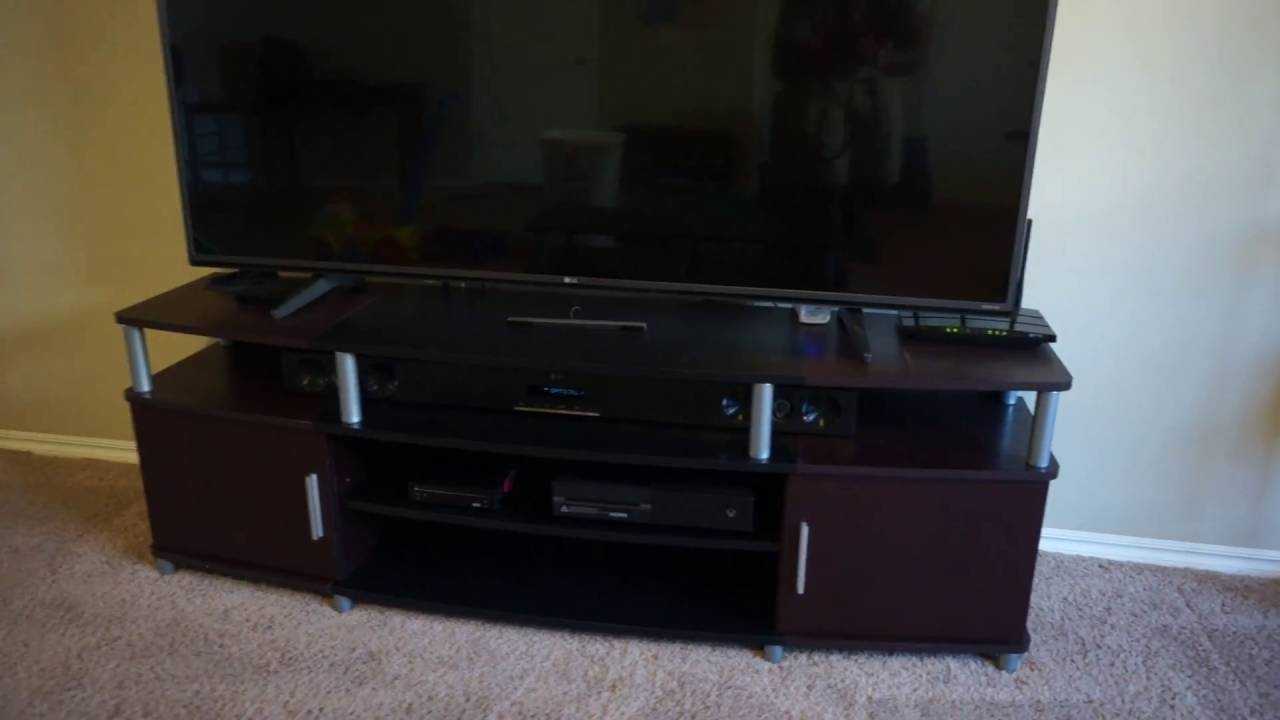 Altra Carson 70 Tv Stand Review - Ameriwood Home Carson Tv Stand with Tv Stands For Tube Tvs (Image 1 of 15)