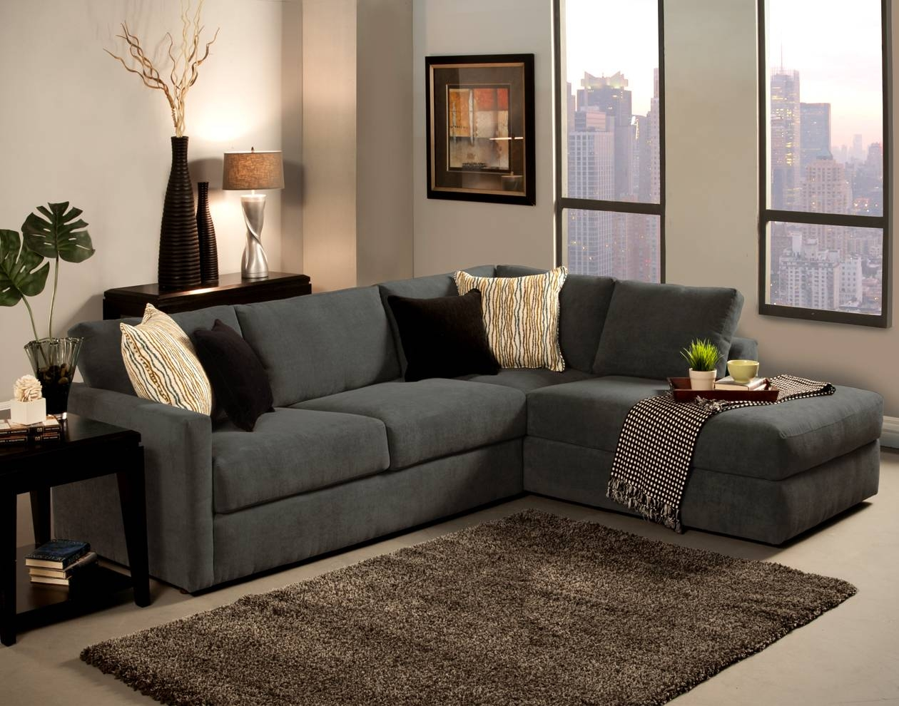 Amazing Small Sectional Sofa With Chaise Lounge 77 With Additional intended for Small Sofas With Chaise Lounge (Image 1 of 15)