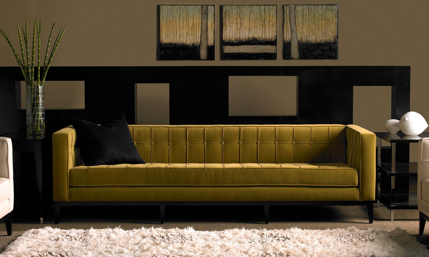 American Leather Luxe Sofa & Ottoman | Modern Design for Luxe Sofas (Image 1 of 15)
