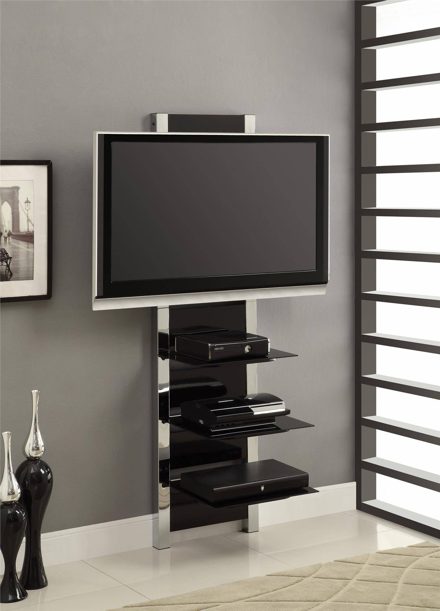 Ameriwood Furniture | Altra Furniture Altramount Modern Tv Stand In Skinny Tv Stands (View 1 of 15)