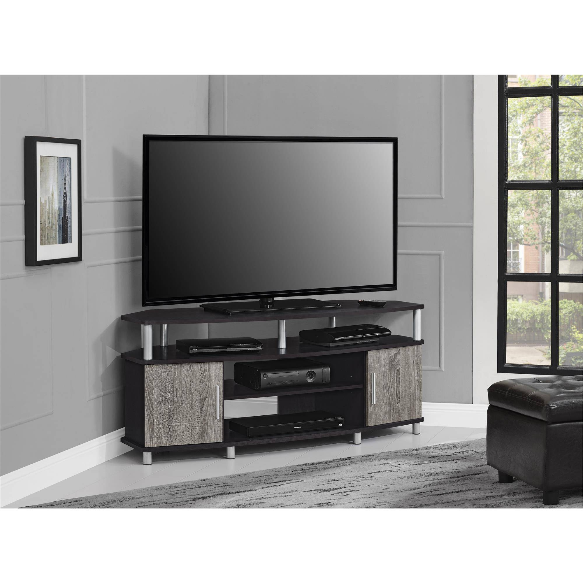Ameriwood Furniture | Carson Corner Tv Stand For Tvs Up To 50 With Regard To 50 Inch Corner Tv Cabinets (View 2 of 15)