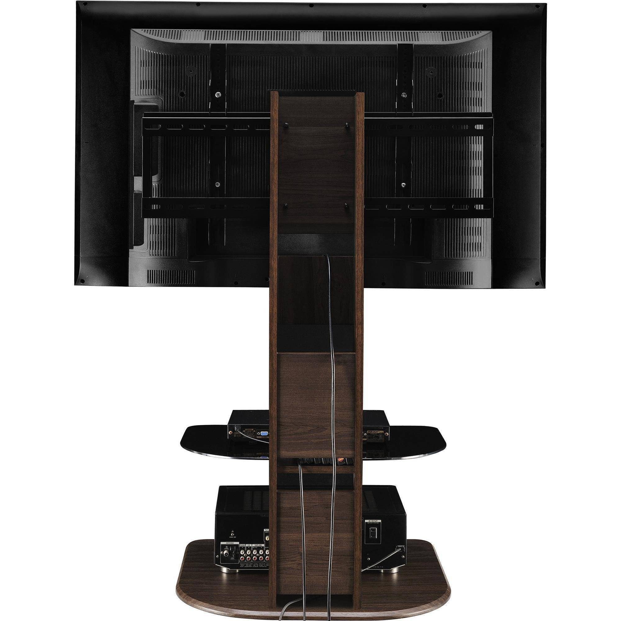 "Ameriwood Home Galaxy Tv Stand With Mount For Tvs Up To 50"", Black intended for Tv Stands For Tube Tvs (Image 2 of 15)"