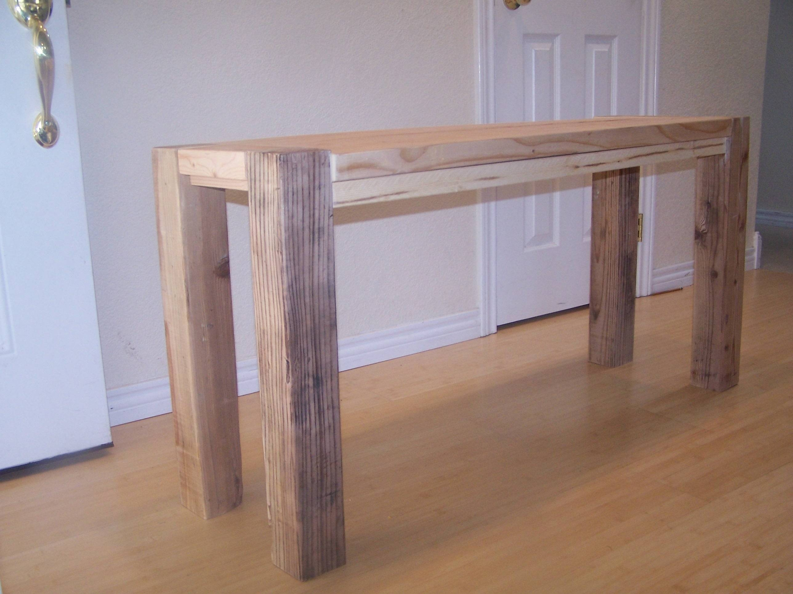 Ana White | Big Ur Counter Height Bench - Diy Projects inside Counter Height Sofa Tables (Image 1 of 15)