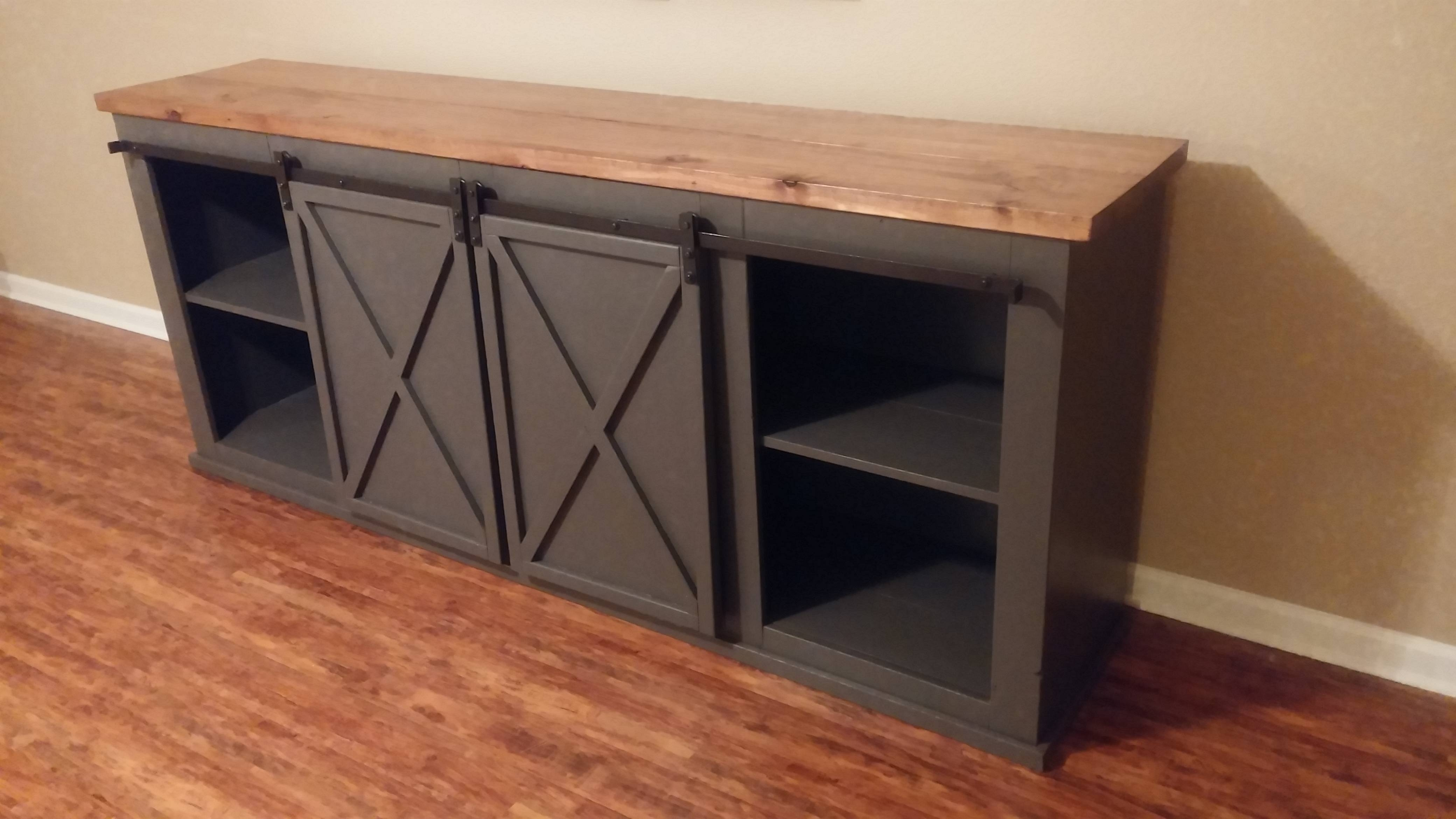 Ana White | Grandy Tv Stand – Diy Projects For Country Tv Stands (View 1 of 15)