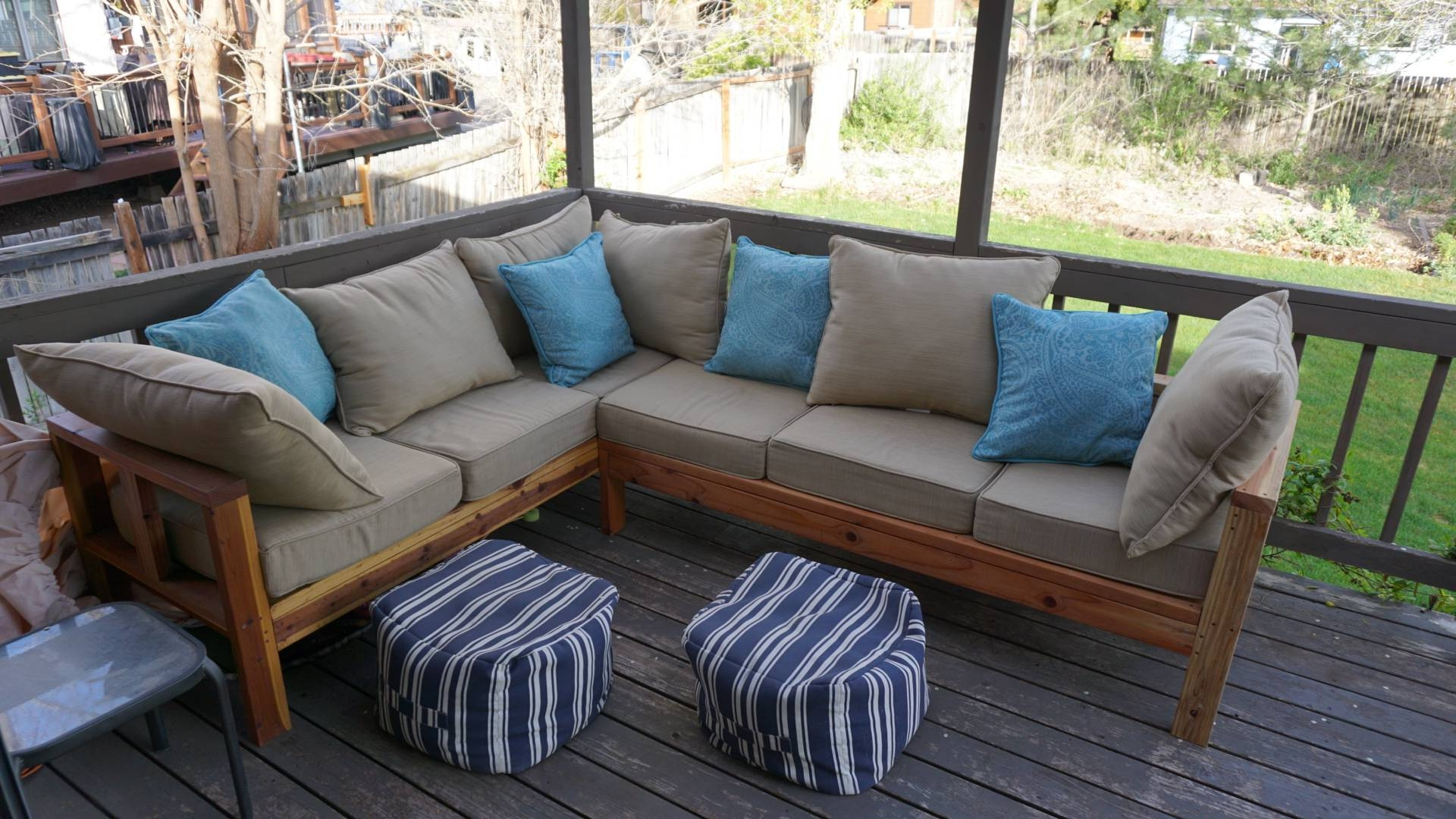 Ana White | Outdoor Sectional Couch - Diy Projects pertaining to Ana White Outdoor Sectional Sofas (Image 8 of 15)