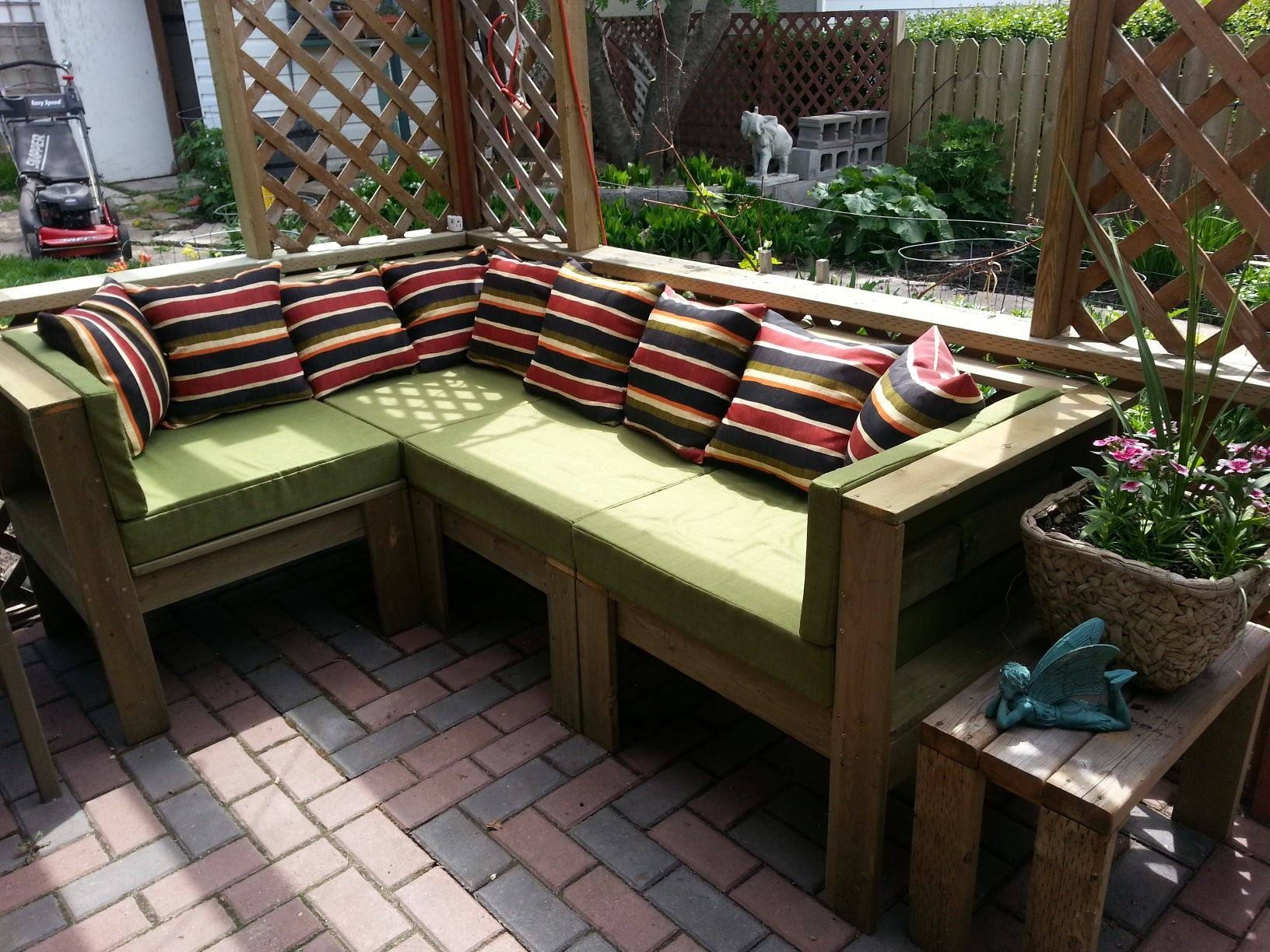 Ana White | Outdoor Sectional - Diy Projects regarding Ana White Outdoor Sectional Sofas (Image 5 of 15)