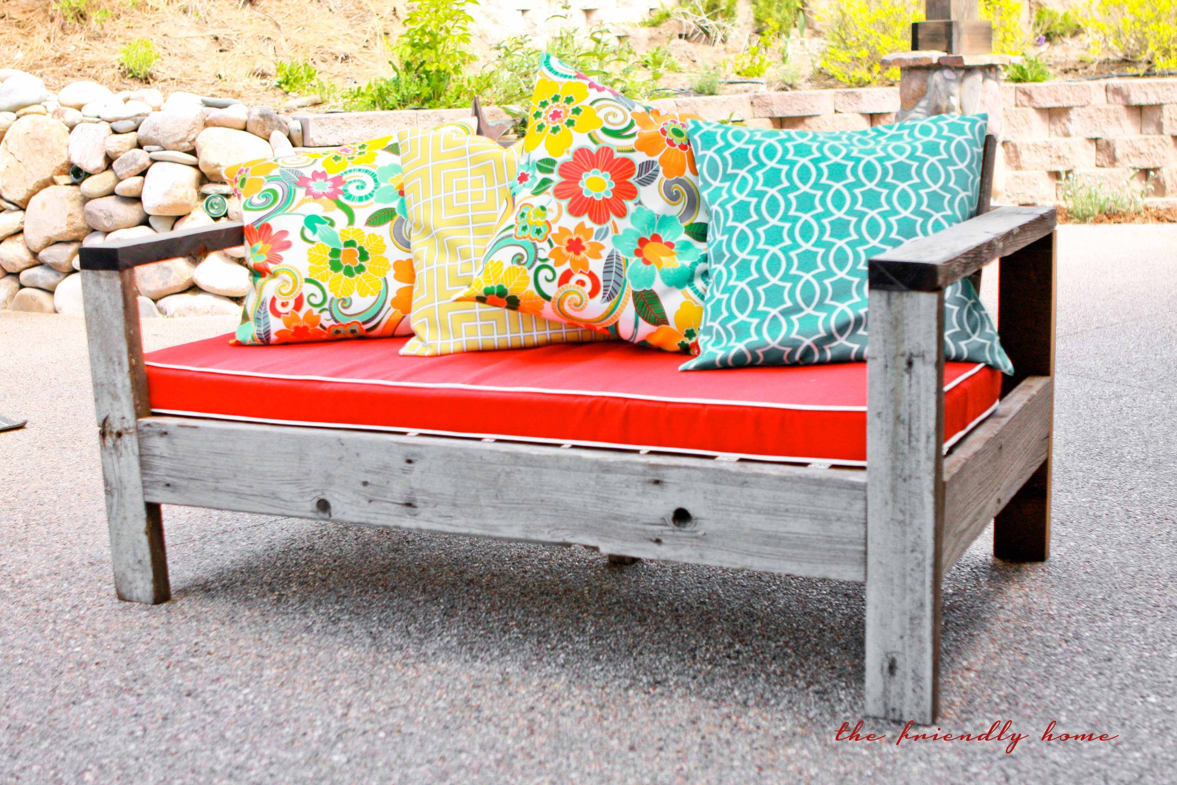 Ana White | Outdoor Sofa From Reclaimed Wood - Diy Projects throughout Ana White Outdoor Sofas (Image 8 of 15)