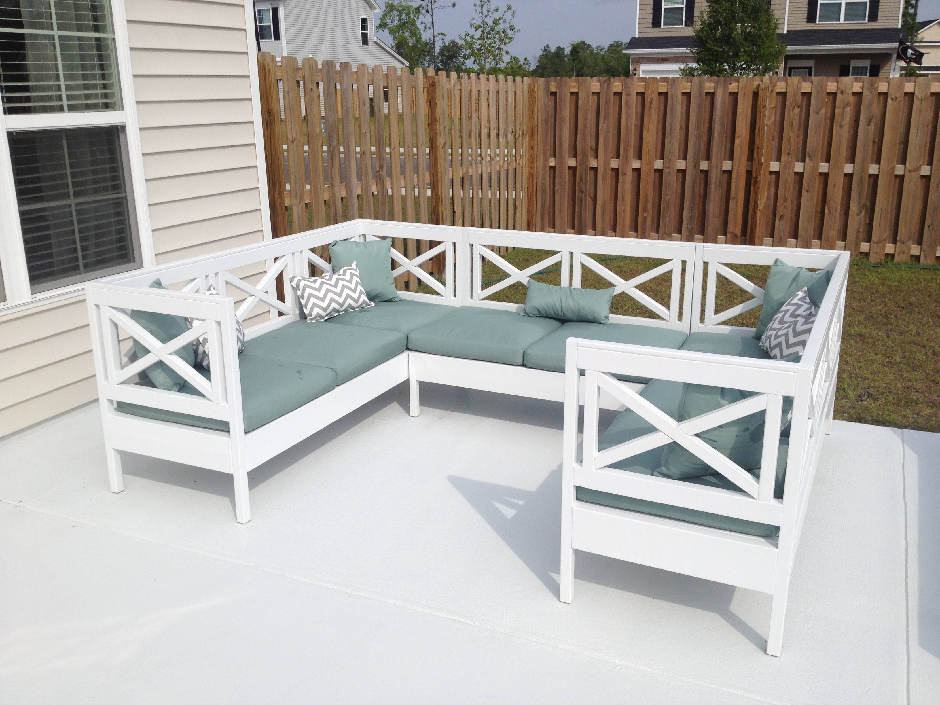 Ana White | Weatherly Outdoor Sectional! - Diy Projects throughout Ana White Outdoor Sectional Sofas (Image 13 of 15)
