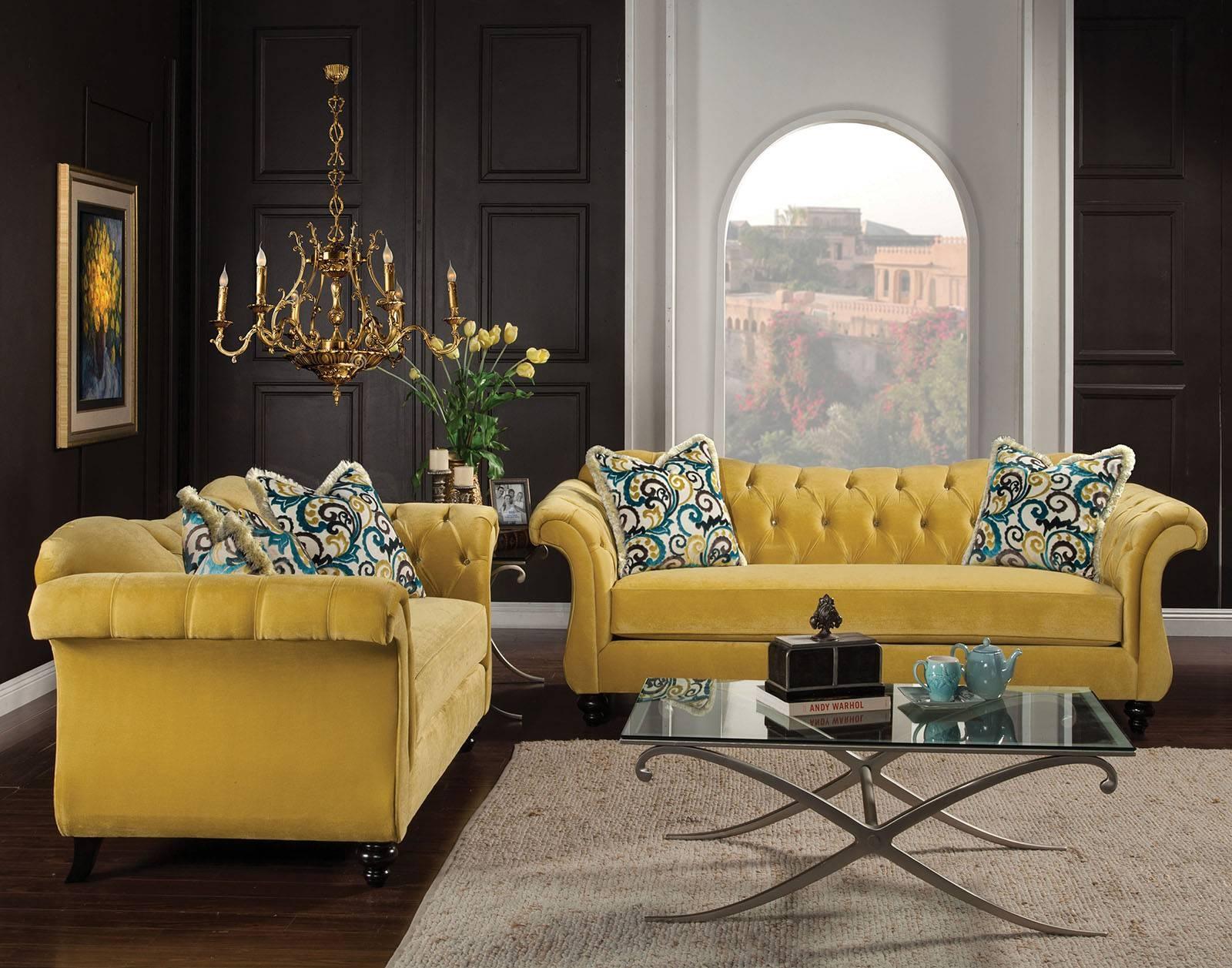 Antoinette Sofa & Love Seat – Famous Furniture Store regarding Antoinette Sofas (Image 5 of 15)