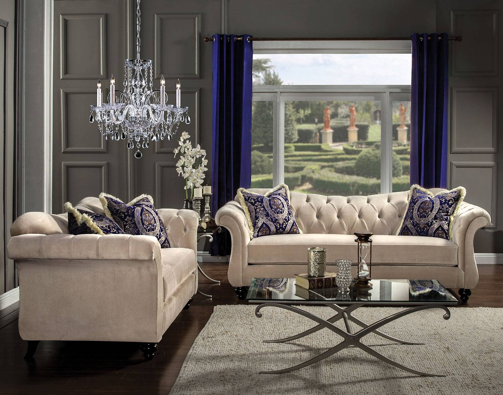 Antoinette Sofa & Love Seat – Famous Furniture Store throughout Antoinette Sofas (Image 6 of 15)