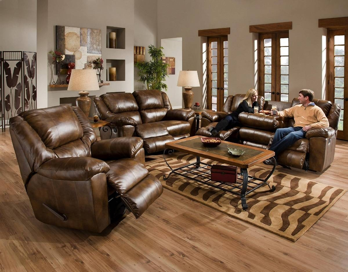 Apartment : Calm Modern Living Room Design Ideas With Brown Sofa intended for Living Room With Brown Sofas (Image 4 of 15)