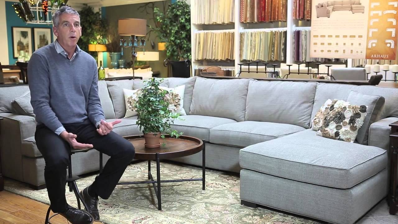 Arhaus | Upholstery | Dune Sectional - Youtube for Arhaus Leather Sofas (Image 4 of 15)