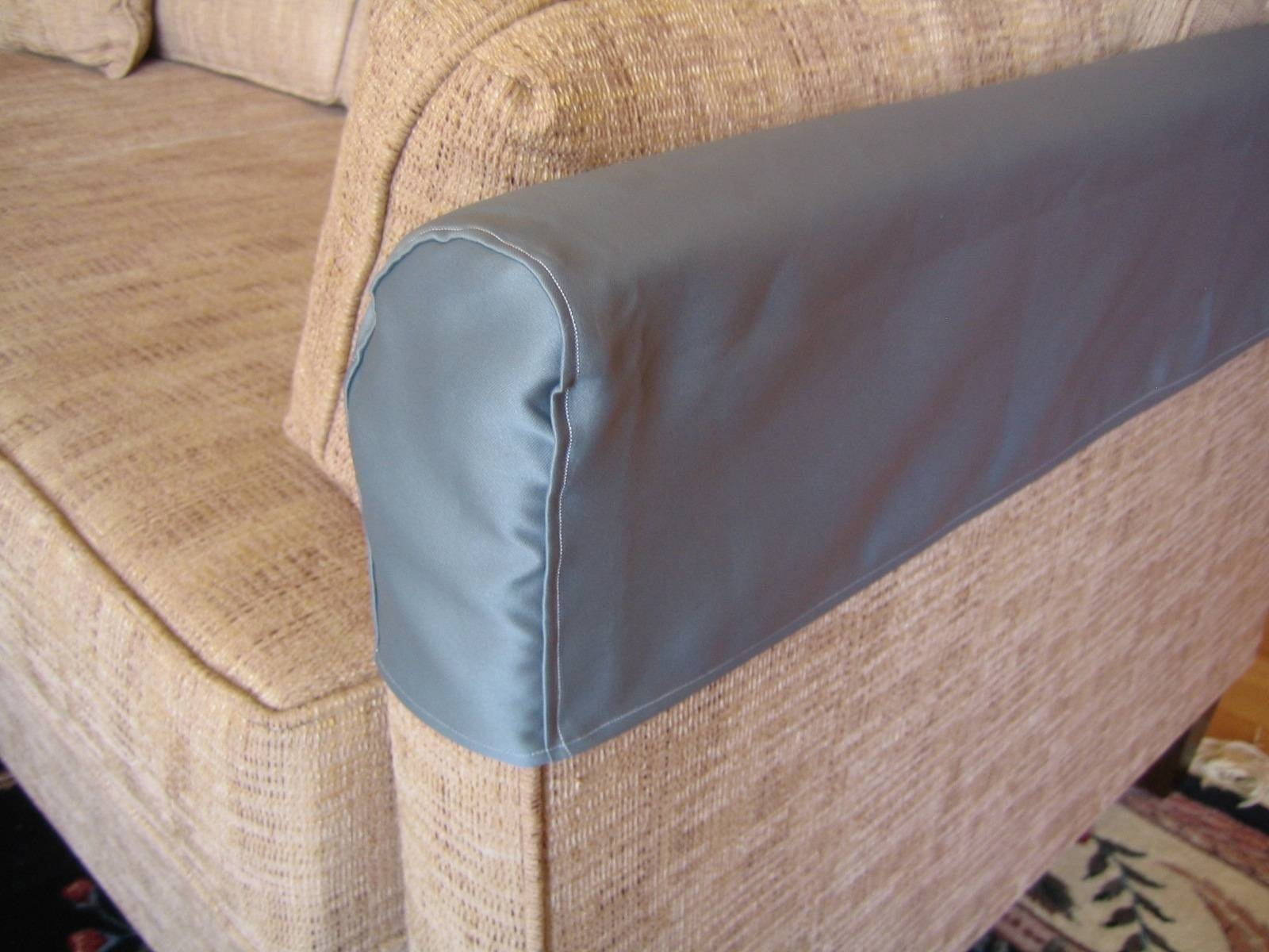 Armrest Covers For Sofas Furniture Linen Couch Slipcovers For Sofa throughout Arm Protectors for Sofas (Image 3 of 15)