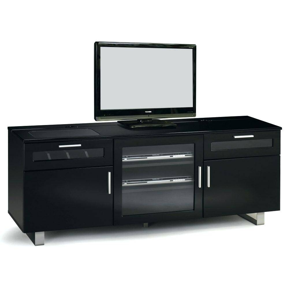 Articles With Fiesta Black High Gloss Plasma Tv Stand With Led regarding Shiny Black Tv Stands (Image 2 of 15)