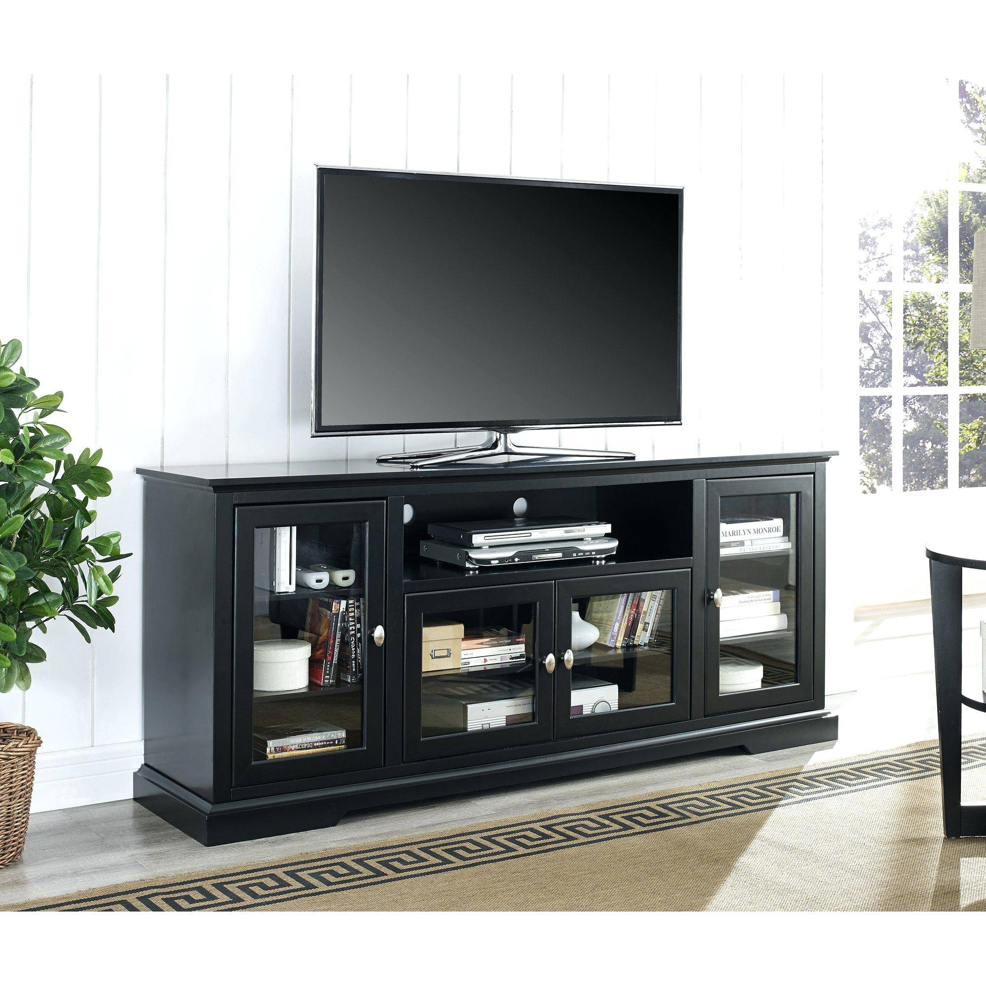 Articles With Tall Black Gloss Tv Cabinet Tag: Charming Tall Black for Tall Black Tv Cabinets (Image 2 of 15)