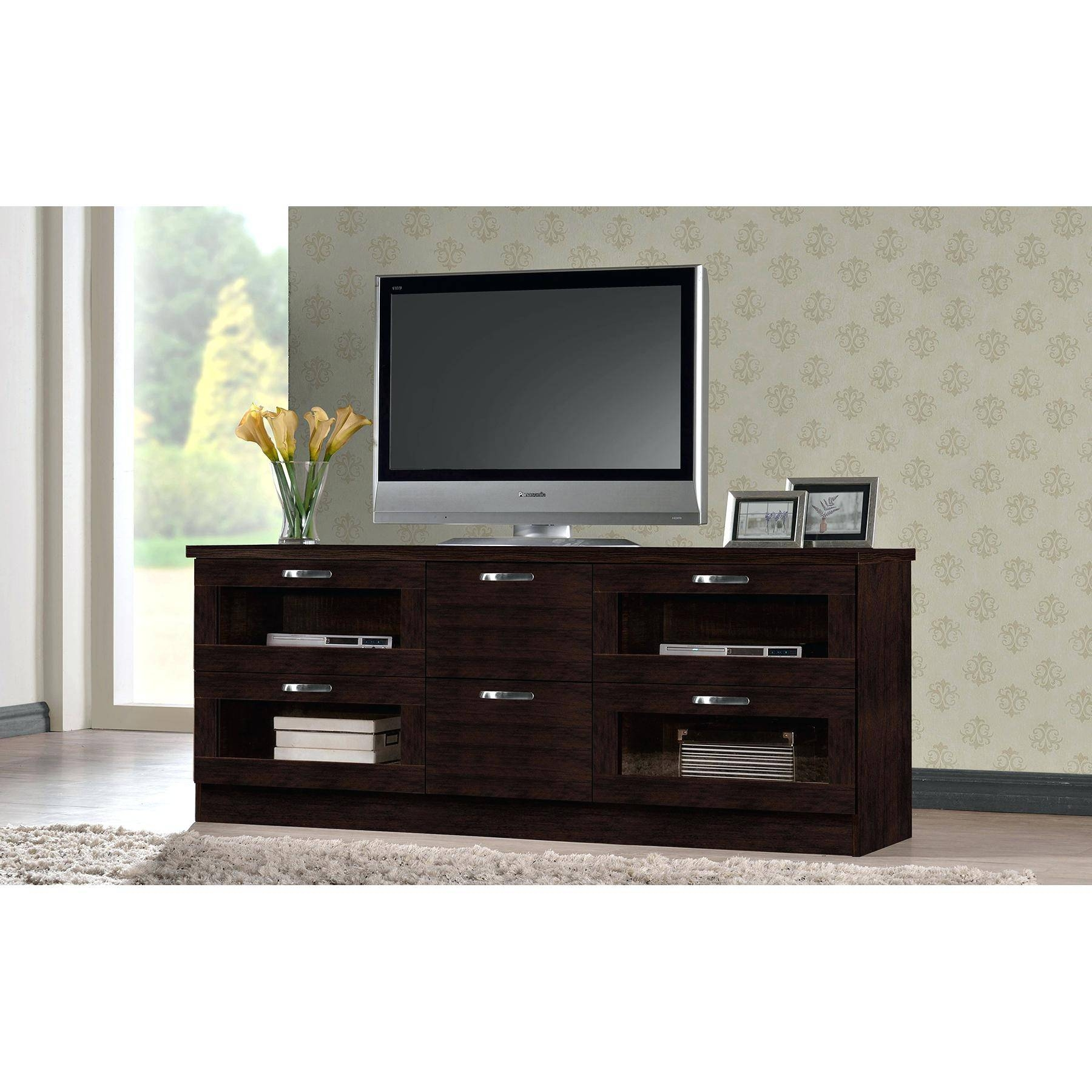 Articles With Walnut Tv Stands For Flat Screens Tag: Fascinating within Dark Tv Stands (Image 2 of 15)