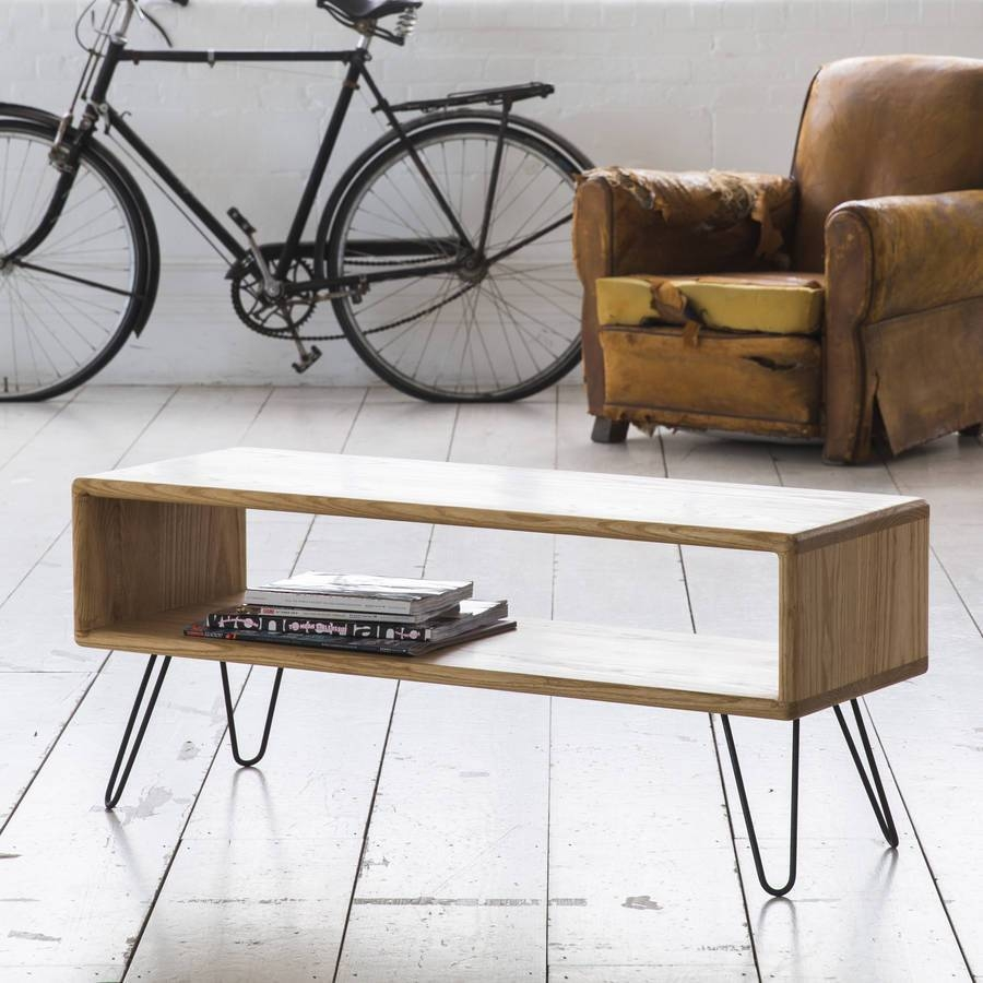Ash Midcentury Modern Hairpin Leg Tv Standbiggs & Quail throughout Hairpin Leg Tv Stands (Image 1 of 15)