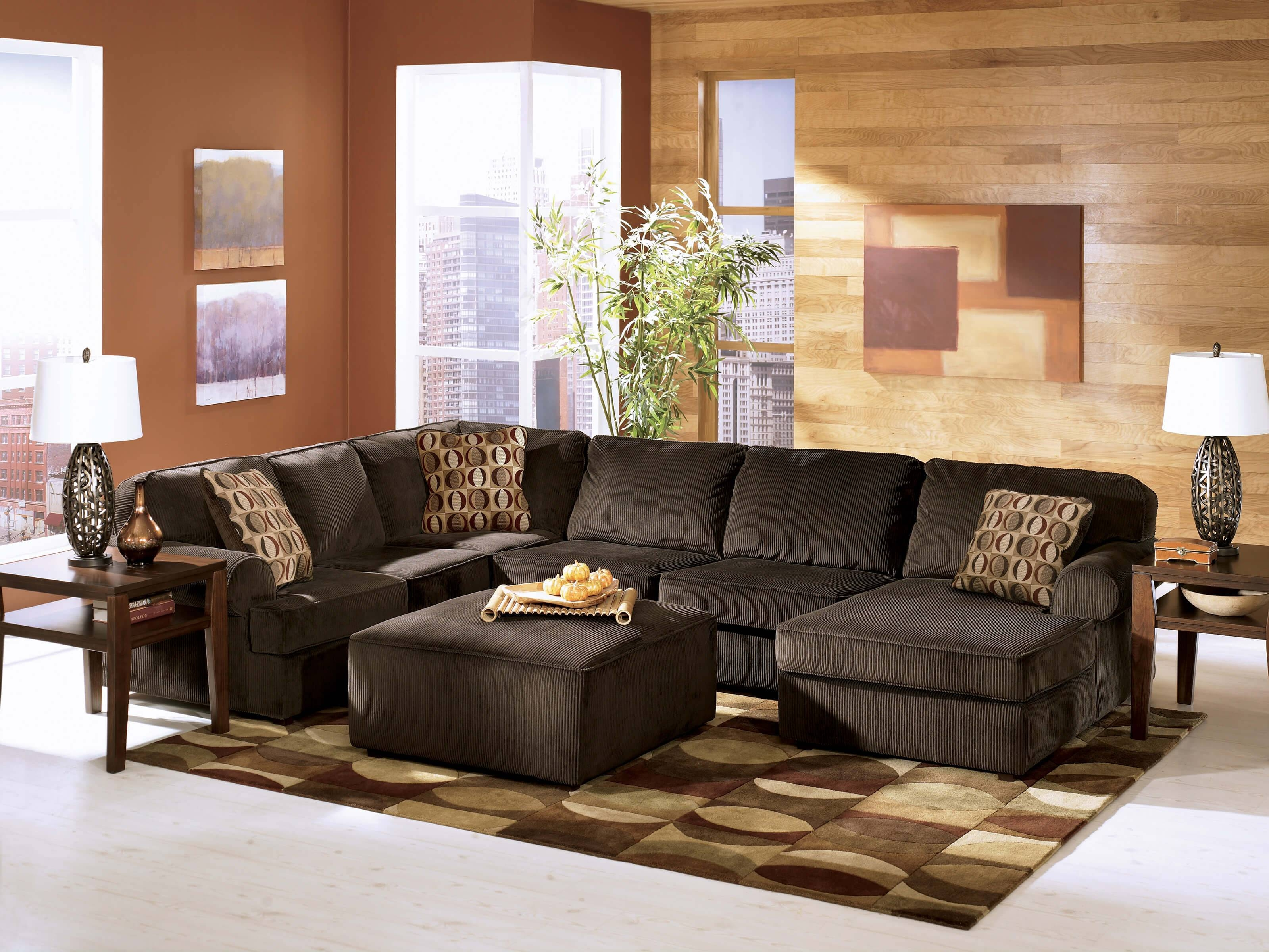 Ashley Furniture Leather Sectional Sofa 67 With Ashley Furniture throughout Ashley Furniture Leather Sectional Sofas (Image 3 of 15)