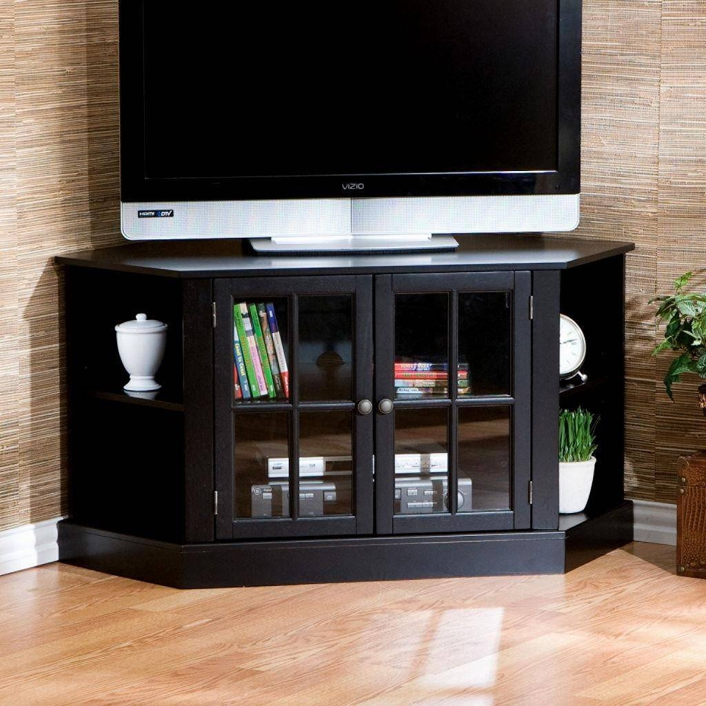Astonishing Corner Tv Stand With Mount Idea #3338 throughout Triangular Tv Stands (Image 1 of 15)