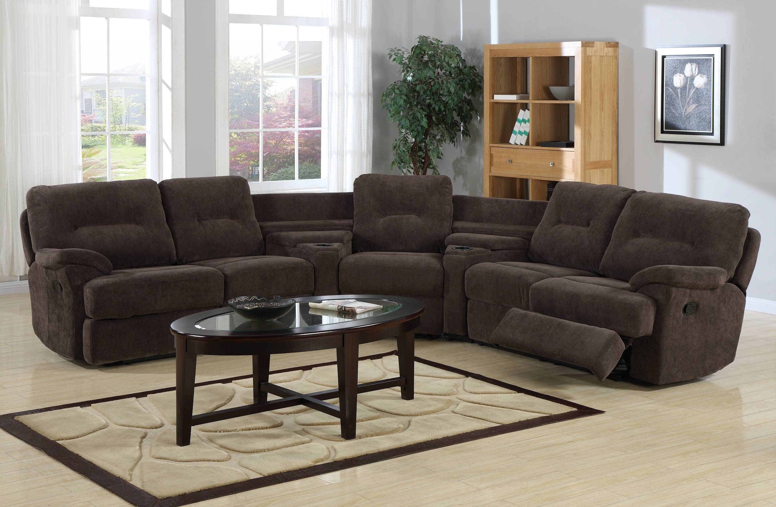 Astounding Curved Sectional Sofa With Recliner 14 In Chaise Queen Regarding Curved Sectional Sofas With Recliner (Photo 1 of 15)