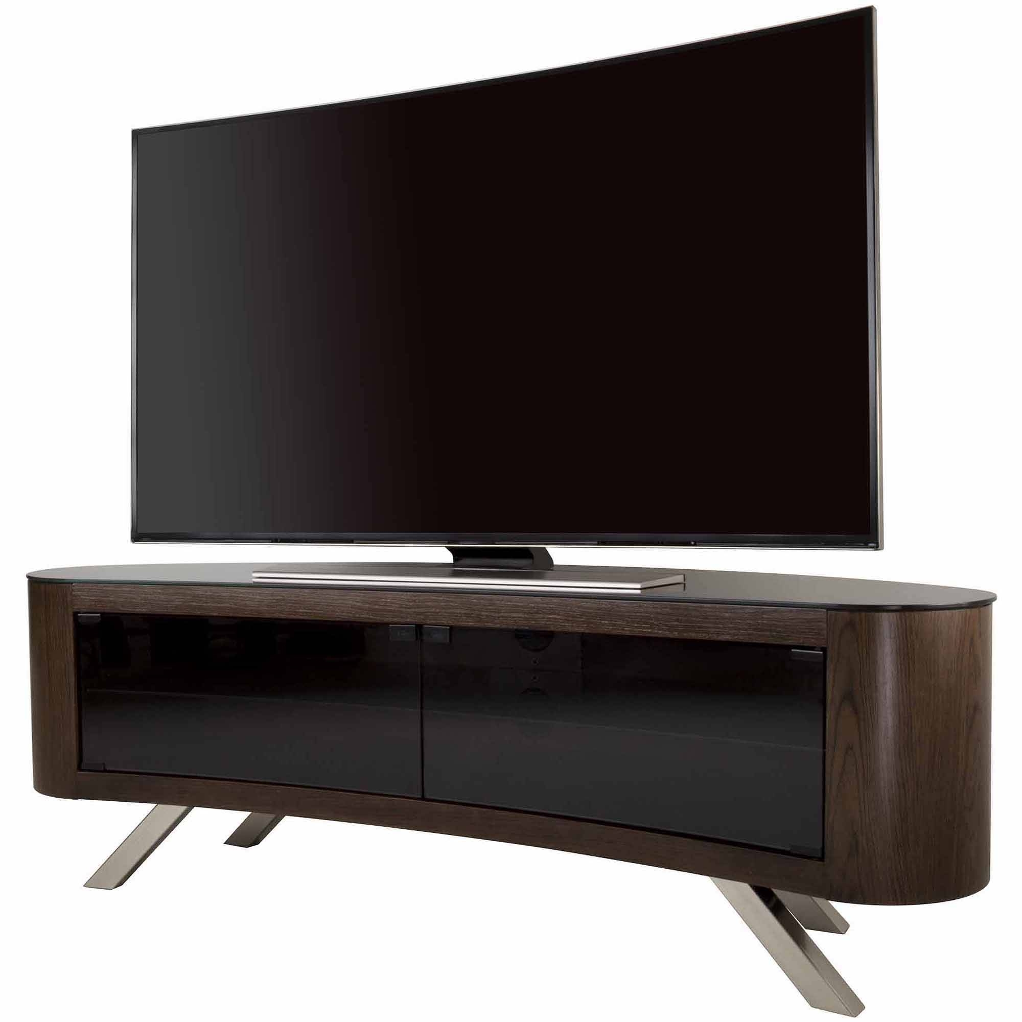 "Avf Bay Curved Tv Stand For Tvs Up To 70"" - Walmart inside Curve Tv Stands (Image 2 of 15)"