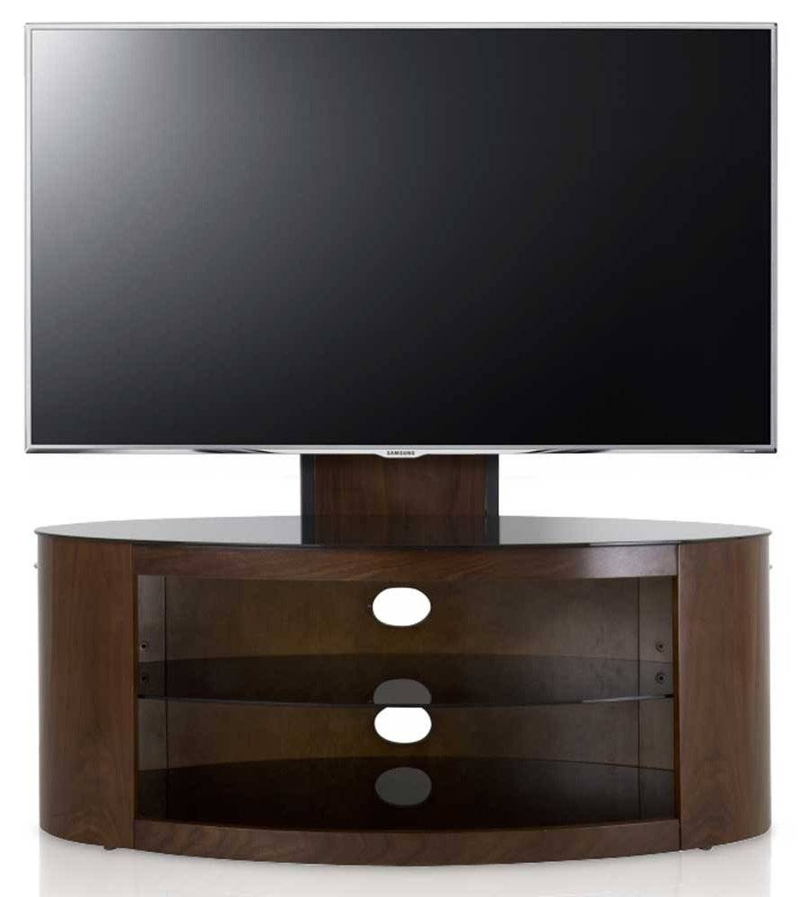 Avf Buckingham Walnut Cantilever Tv Stand With Avf Tv Stands (View 13 of 15)