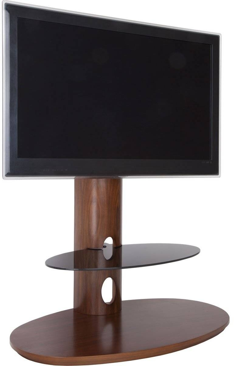Avf Chepstow Walnut Cantilever Tv Stand Within Avf Tv Stands (View 4 of 15)