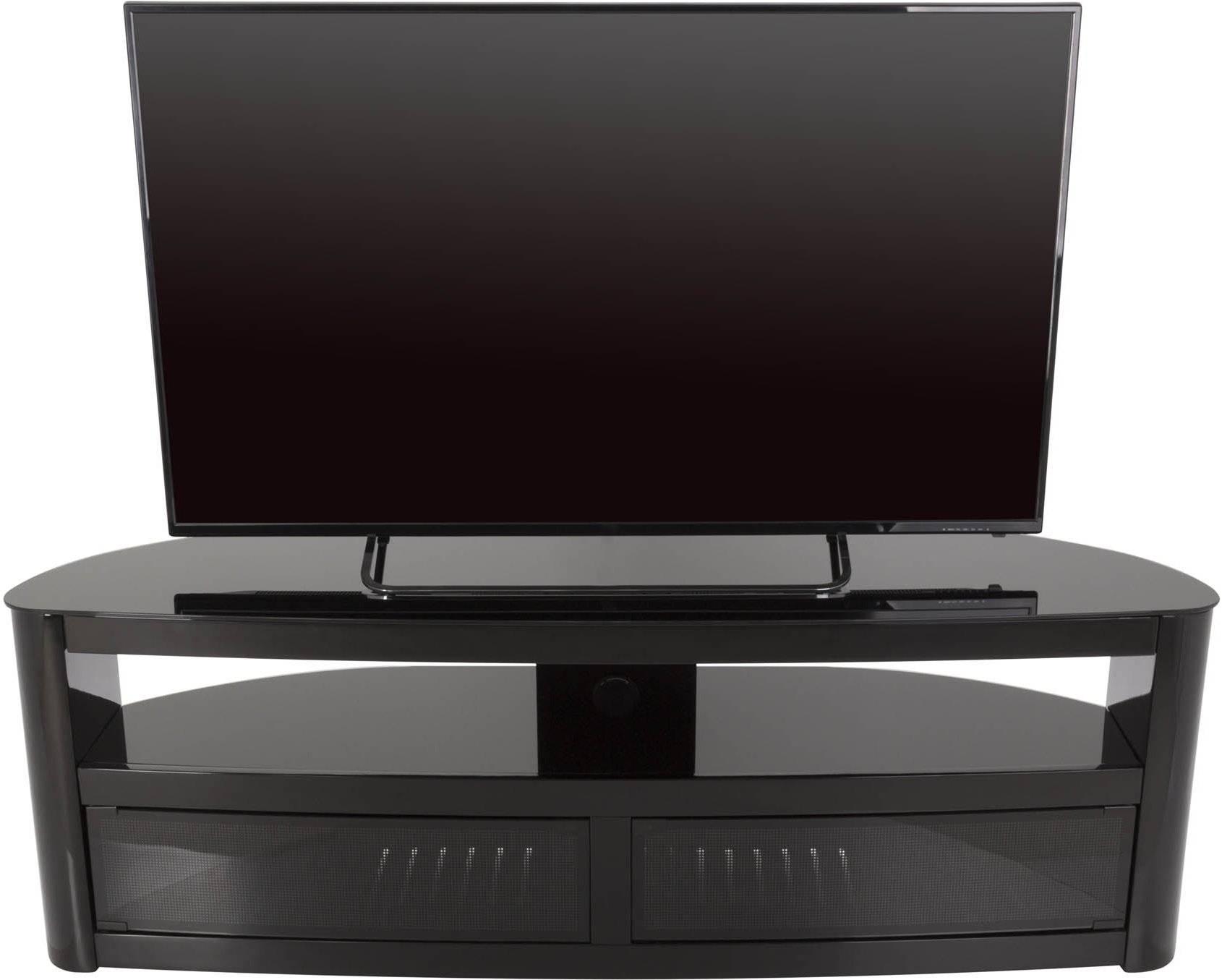 Avf Fs1500Burb Tv Stands regarding Black High Gloss Corner Tv Unit (Image 1 of 15)