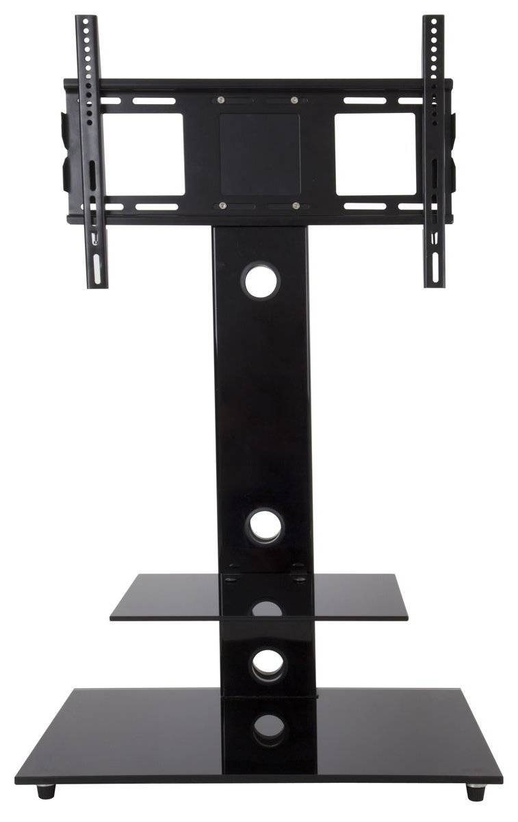 Avf Fsl700leb Lesina Black Cantilever Tv Stand Inside Avf Tv Stands (View 7 of 15)