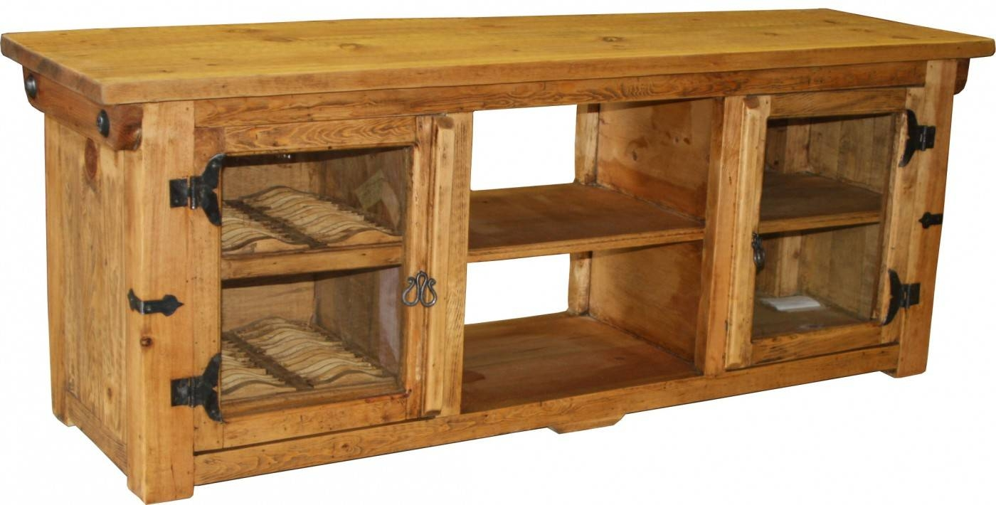 Aweinspiring Tv Stands And Tier Rustic Pine Tv Stand And Coffee Inside Rustic Pine Tv Cabinets (View 8 of 15)